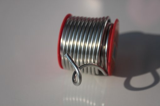 Copper, Metal, Silver, Solder, Tin, Wire, Chemical