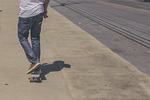 Skateboarder, Skateboard, Street, Skateboarding, Sport