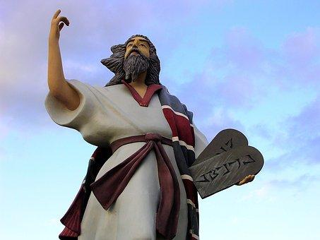 Moises, Statue, Ribero, Venezuela, Sculpture, Religious