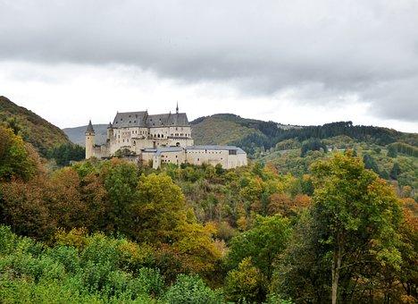 Castle, Vianden, Luxembourg