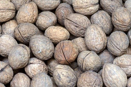 Walnuts, Nuts, Close, Fruit Bowl, Walnut