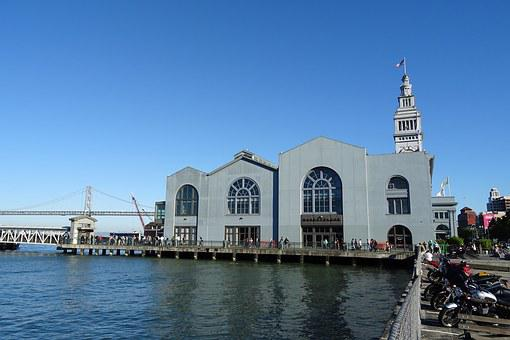 Clock Tower, Ferry Building, Port, Water Front