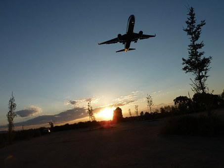 Boeing, Aircraft, Sun, Solar Ortho, Barcelona, El Prat