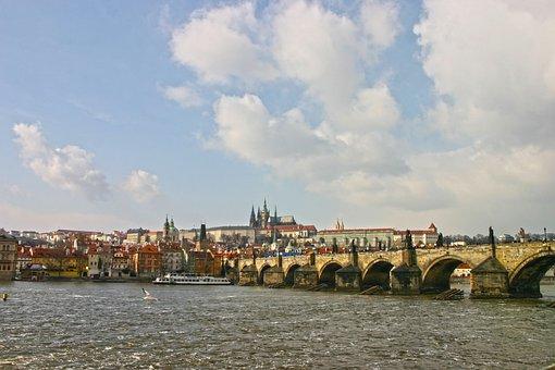 Bridge, Old, Architecture, River, Crossing, Cross-over
