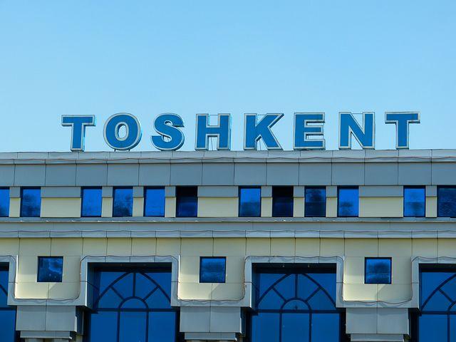 Railway Station, Tashkent, Uzbekistan, Arrive