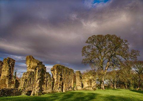 Abbey, Basingwork, Greenfield, Holywell, Historic
