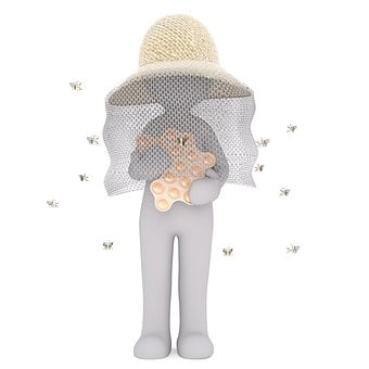 Beekeeper, Bee, Farm, Honey, Agriculture