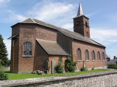 Bettrechies, France, Church, Religious, Historic