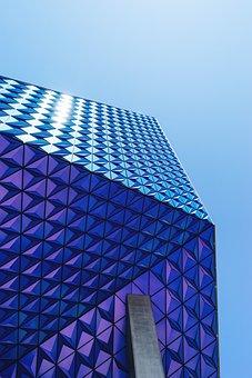 Architectural, Architecture, Blue, Blue Sky, Building