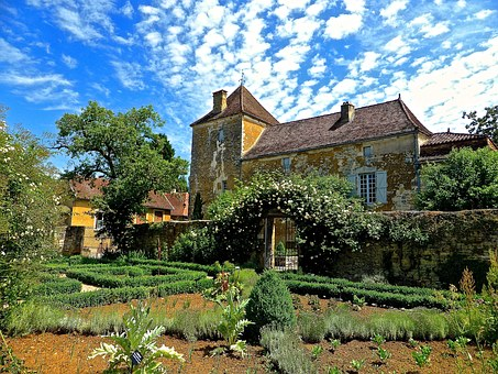 Slaviac, Garden, Medieval, Heritage, Building, Historic