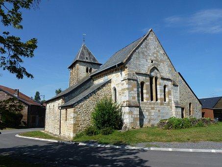 Baâlons, Ardennes, Church, France, Historic, Religious