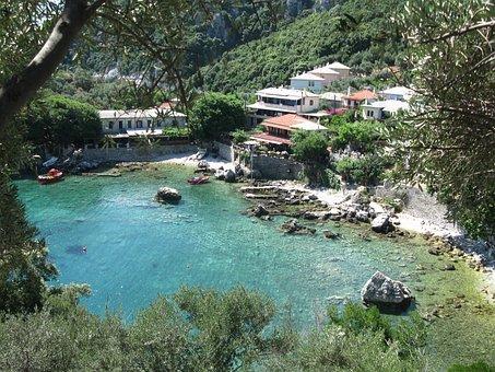 Greece, Mama Mia, Greek, Nature, Cliff, Coast