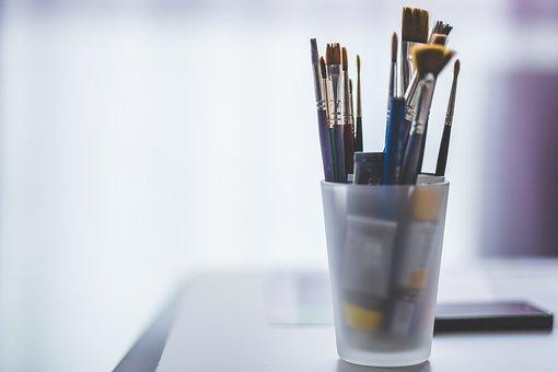 Art Materials, Blur, Equipment, Oil Paint