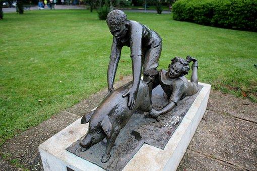 Monument, Statue, Funny, Ibirapuera Park