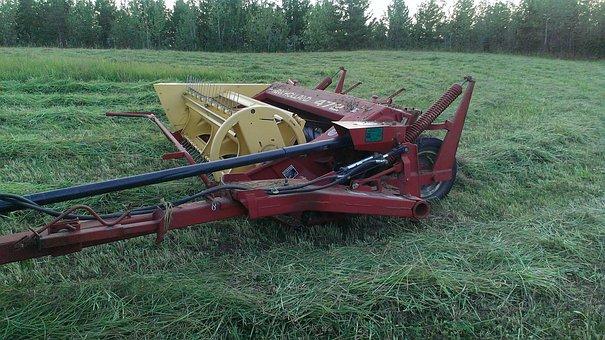 Hay, Haybine, Mower, Harvester