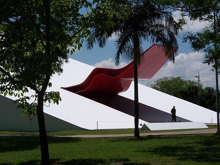 Ibirapuera Auditorium, Niemeyer, Modern Architecture
