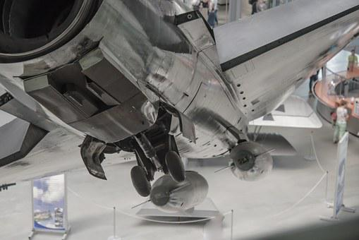 Fighter Jet, Jet, Jet Fighter, Museum, Bomb, Attack