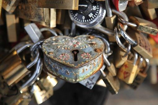 Locksmith, Paris, Bridge, Key
