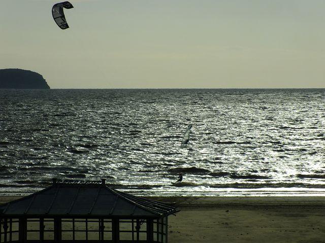 Windsurfer, Kitesurfing, Parasurfer, Kitesurfer