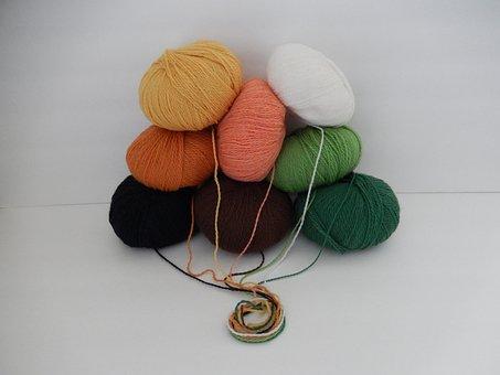 Yarn, Wool, Ball, Crochet, Knitting, Fiber