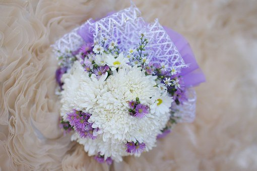 Flower, Bouquet, Floral, White, Green, Leaf, Design