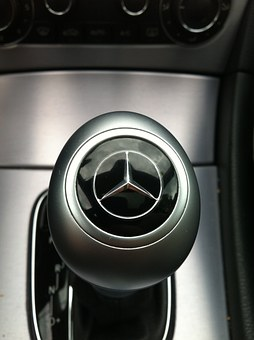 Mercedes, Logo, Automatic, Gear