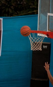 Basketball, Net, Ball, Hands, Playing, Sports, Game