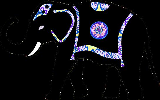 Animal, Decorations, Decorative, Elephant, Ornamented