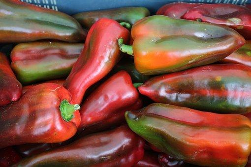 Paprika, Pepper, Vegitable, Pimentos