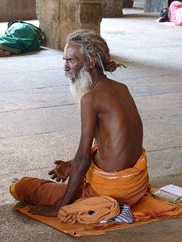 Sadhu, Holy Man, Hinduism, India