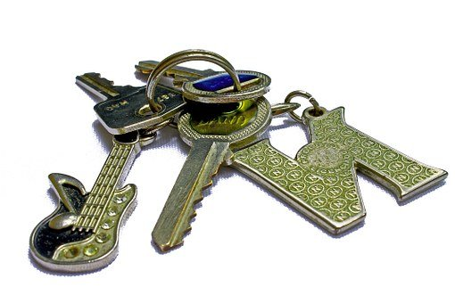 Locksmith, Keys, Set Of Keys, Silver