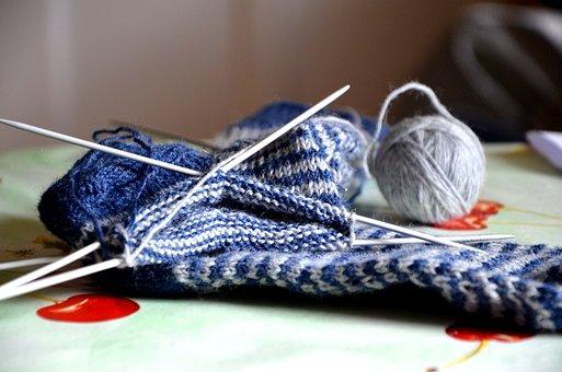 Knit, Knitting, Wool, Hand Labor, Knit Socks, Socks