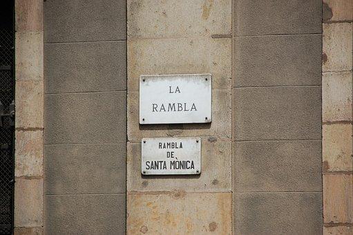 Spain, Barcelona, La Rambla