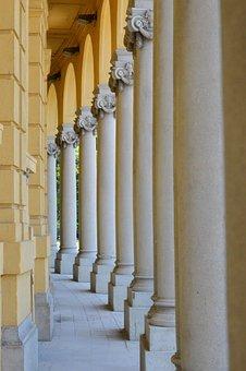 Column, Szecseny Thermal Bath, Budapest