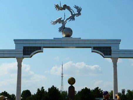 Tashkent, Independence Square, Monument, Uzbekistan