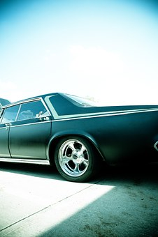 Oldtimer, V8, Classic, Automotive, Chrome, Car Model V8