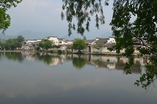 Huangshan, Natural, Views, Hongcun Village