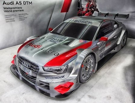 Car, Auto, Automobile, Audi A5, Hdr, Racing, Sports