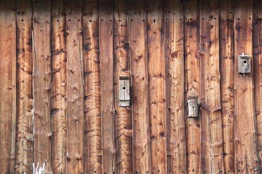 Wood, Wall, Boards, Bohlen, Background, Grain, Panels