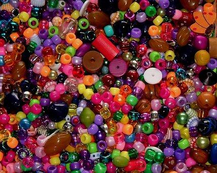 Beads, Craft, Colorful, Decoration, Handmade, Design