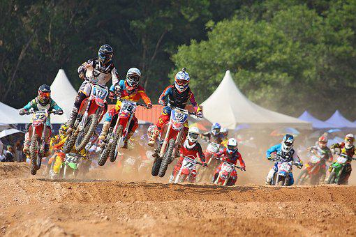 Action, Bike, Biker, Colorful, Colourful, Competition