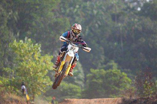 Action, Adult, Adventure, Bike, Biker, Exhilaration