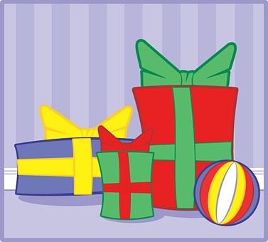 Background, Birthday, Bow, Box, Bright, Celebrate