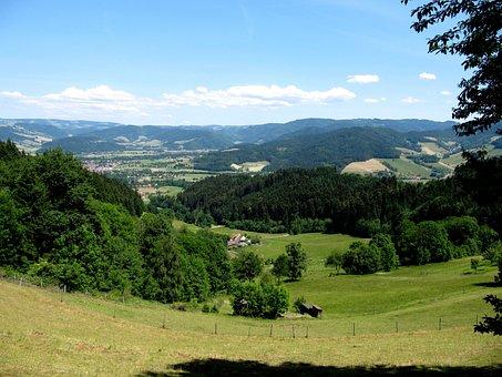 Black Forest, View, Landscape, Distant View