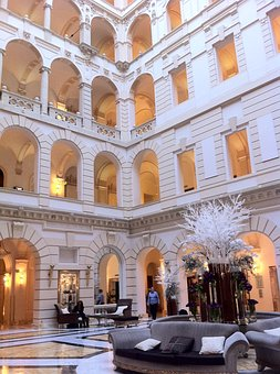 Hungary, Budapest, Hotel, Boscolo Hotel, City