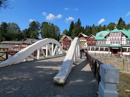 Bridge, The Giant Mountains, Spindleruv Mlyn, Building