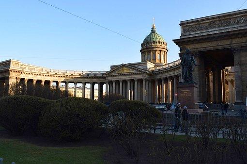 Kazan Cathedral, St Petersburg, Russia, City Break