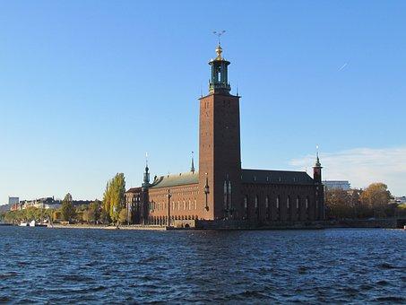 Stockholm, City Hall, Architecture, Sweden, Scandinavia