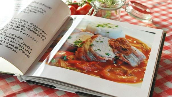 Cookbook, Recipes, Food, Cook, Book, Paper, Hand