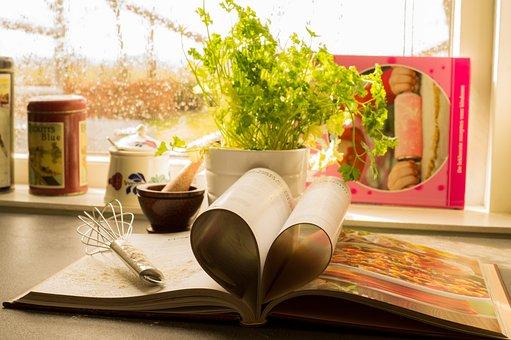 Cookbook, Heart, Baking, Recipe, Love, Cuisine, Cook